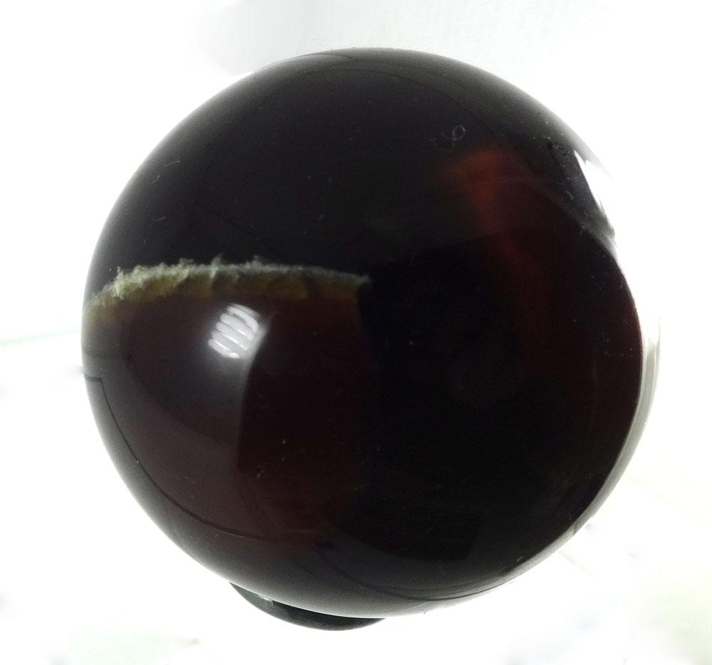 blue amber sphere